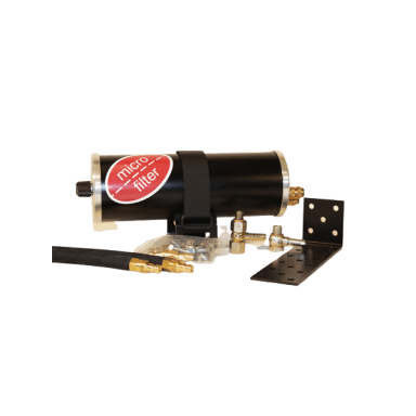 Radial-Feinstfilter SR12MA (inkl. Anschlüsse)